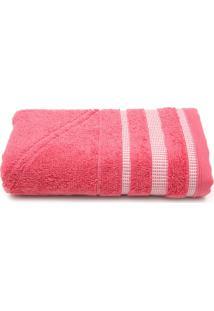 Toalha De Rosto Artex Total Mix Pixel Fio Penteado Pink