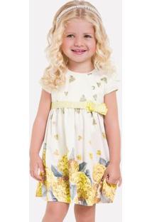 Vestido Infantil Milon Cetim Chloe 11700.0001.M
