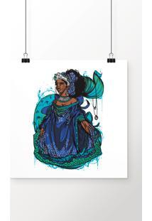 Poster Yemanjá