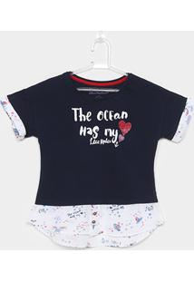 Camiseta Infantil Lilica Ripilica Feminina - Feminino