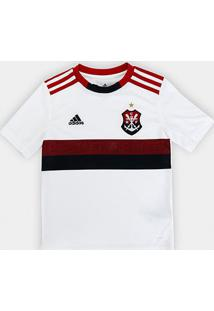 Camisa Flamengo Infantil Ii 19/20 S/Nº Torcedor Adidas - Masculino