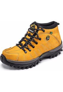 Bota Bergally Adventure Amarela