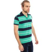 6e9adca4530 Camisa Pólo Preta Verde masculina | Shoes4you