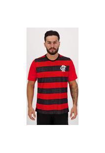 Camisa Flamengo Shout Vermelha E Preta