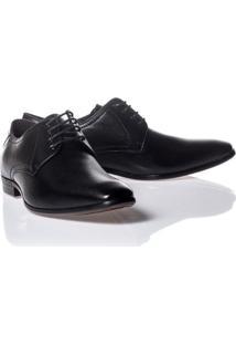 Sapato Social Rafarillo Couro Cadarço Tradicional Masculino - Masculino