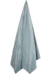 Cobertor Verlour King Size- Verde ÁGua- 240X260Cm