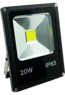 Refletor De Led 20W Ip65 Light Branco Frio