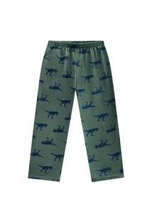 Calça Pijama Infantil Menino Kyly Verde