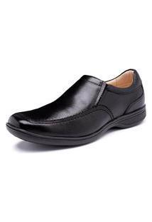 Sapato Torani Stanley Couro Preto