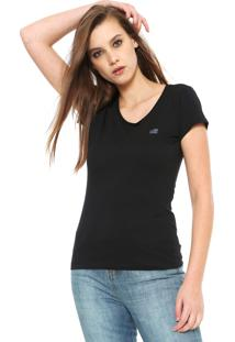 Camiseta Ellus 2Nd Floor Basic Preta