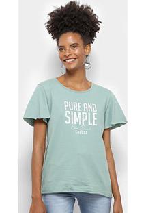 Camiseta Colcci Pure And Simple Feminina - Feminino