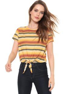 Camiseta Dimy Carnaval Amarela/Vermelha