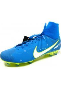 098ade7f82111 Chuteira Nike Mercurial 6 Campo Neymar Df Azl - Nike