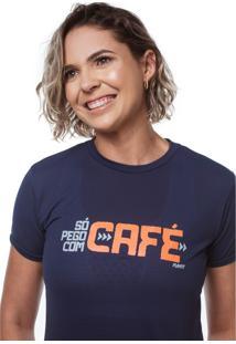 Camiseta So Pego Com Café Azul
