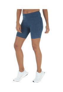 Bermuda Adidas M 3S Tight - Feminina - Azul