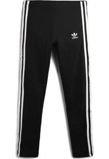 Calça Adidas Originals Menina Lisa Preta