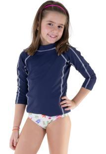 Camiseta Surf Lichia Azul Marinho
