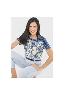 Camiseta Desigual Melian Azul