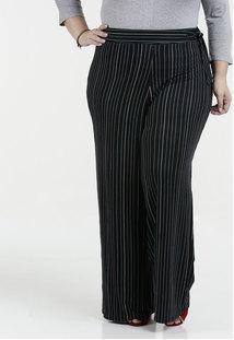d5626bffa1 Calça Clochard Pantalona Listrada Plus Size Marisa