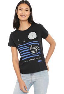 Camiseta Cantão Lua Preta