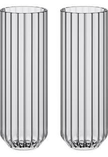Fferrone Design Conjunto De Copos Dearborn - Neutro