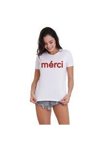 Camiseta Jay Jay Básica Merci Branca
