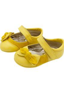 Sapato Babytonka C541 Amarelo