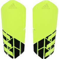 5f243e5576 Caneleira De Futebol Adidas X Lesto - Adulto - Amarelo Fluor