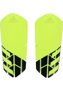 Caneleira De Futebol Adidas X Lesto - Adulto - Amarelo Fluor