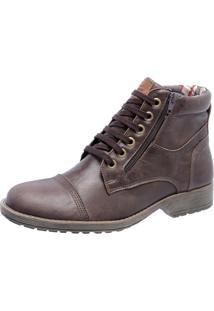 Bota Mega Boots Couro 1000 Café