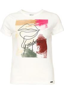 Camiseta Dzarm Guapa Off-White