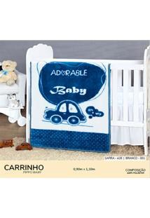 Cobertor Infantil Pippo Carrinho
