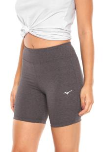 Bermuda Mizuno Gym Stretch Cinza