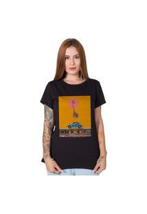 Camiseta Giraffe Street Preto