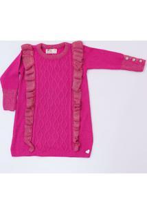 Vestido Mini Lady - Kayla Menina - Pink