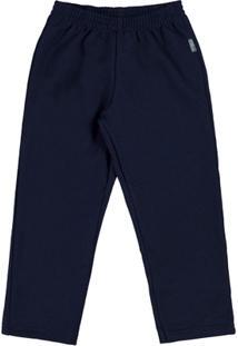 Calça Primeiros Passos Menino - Masculino-Marinho