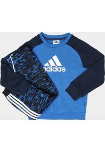 Agasalho Adidas I St Terry Jogg Infantil - Masculino