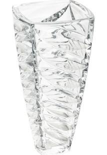 Vaso De Vidro Sodo-Cálcico Com Titanio Facet 30,5Cm - Unissex