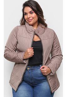 Jaqueta Belina Plus Size Nylon Feminina - Feminino