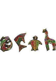 Imãs De Geladeira Animais - Lombok