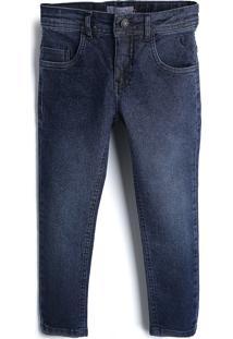 Calça Jeans Reserva Mini Infantil Lisa Azul