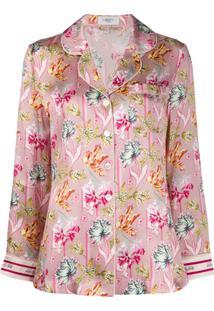 Liberty London Pijama Bettina De Seda - Rosa