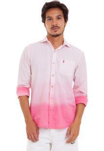 Camisa Sk Dêgrade Rosa
