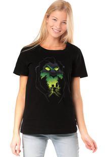 Camiseta Chico Rei Be Prepared - O Rei Leão Preta