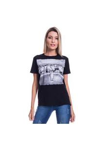 Camiseta Jazz Brasil Macacos Preta