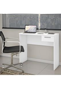 Mesa Escrivaninha Notável Nt2000-127 Office 1 Gaveta Branco New