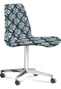 Cadeira Eames Loft Azul E Verde