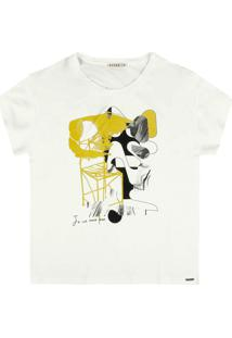 Camiseta Dzarm Branco - Kanui