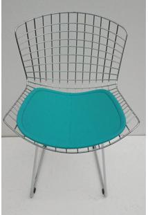 Cadeira Bertoia Assento Courissimo Azul - 21903 - Sun House