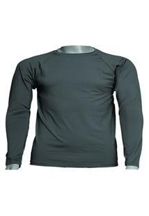 Camisa Térmica Manga Longa Em Poliéster C/ Elastano Proteçáo Uv